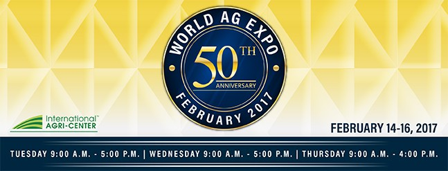 World AG Expo 2017