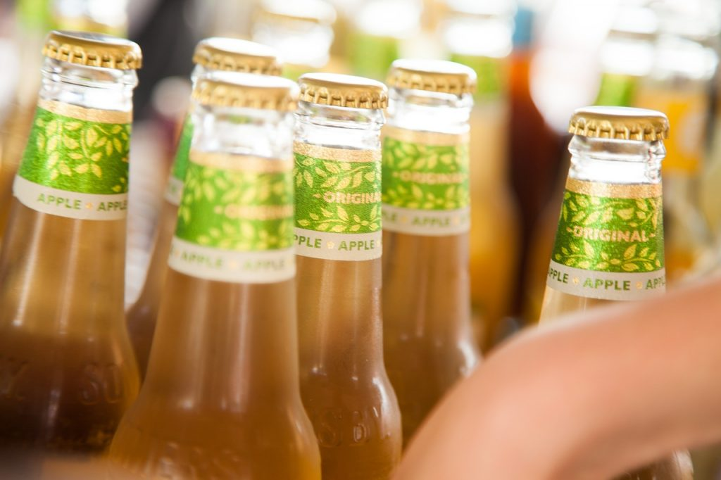 apple cider bottles