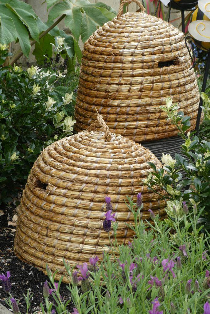 primitive beehives