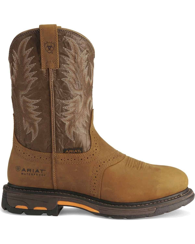 ARIAT Men's Workhog Waterproof Work Boot