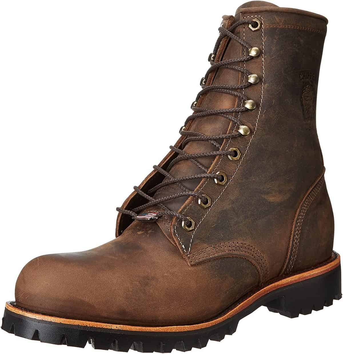 Chippewa Men's Steel Toe EH 20076 Pull-On Boots